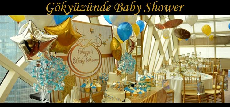 Gökyüzünde Baby Shower